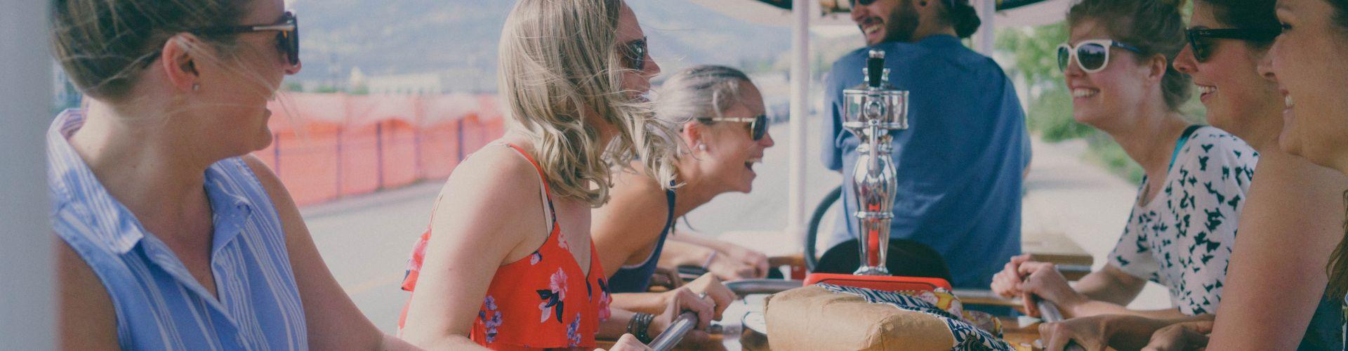 Kelowna Activities Brewery Tour Ladies